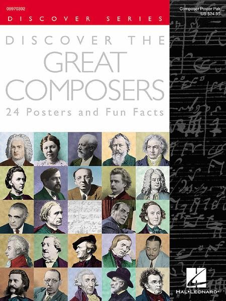 Discover the Great Composers (Set of 24 Posters)