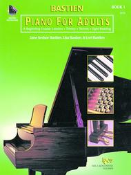 Bastien Piano For Adults - Book 1 (Book Only)