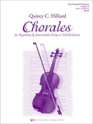 Chorales For Beginning & 12 Strng Or Full Orchestra