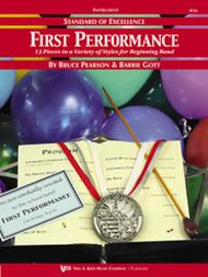 Standard of Excellence First Performance, Conductor Score