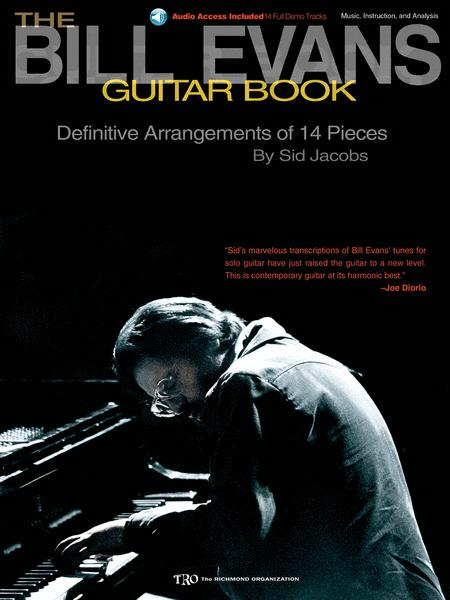 The Bill Evans Guitar Book Bookcd Sheet Music By Bill Evans