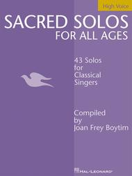 Sacred Solos for All Ages - High Voice
