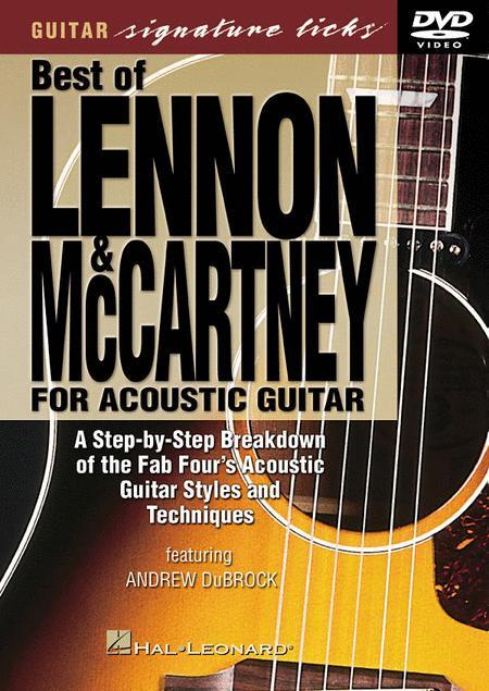 The Best of Lennon & McCartney for Acoustic Guitar (DVD)