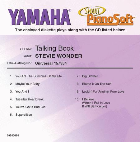 Stevie Wonder - Talking Book - Piano Software