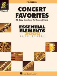 Concert Favorites Vol. 1 - Percussion