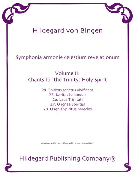 Chants For the Trinity: Holy Spirit