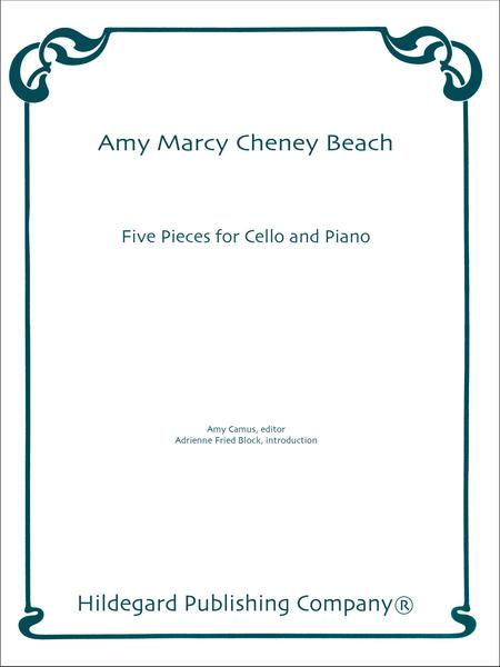 Five Pieces For Cello And Piano