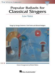 Popular Ballads for Classical Singers