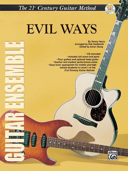 Belwin's 21st Century Guitar Ensemble -- Evil Ways