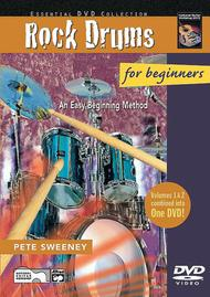 Rock Drums for Beginners, Volumes 1 & 2