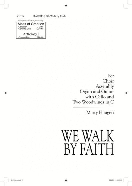 We Walk By Faith Sheet Music By Marty Haugen - Sheet Music Plus