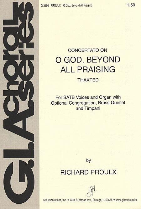 O God, Beyond All Praising