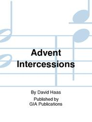 Advent Intercessions