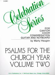 Psalms for the Church Year - Volume 2