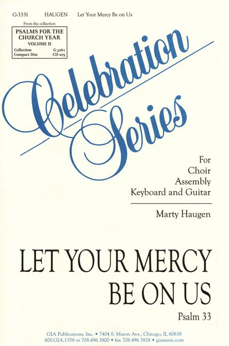 Let your mercy be on us sheet music by marty haugen sheet music plus let your mercy be on us fandeluxe Image collections