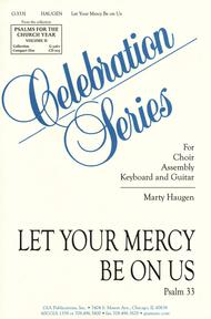 Let your mercy be on us sheet music by marty haugen sheet music plus fandeluxe Image collections