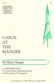 Carol at the Manger