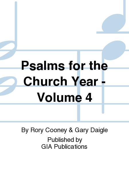Psalms for the Church Year - Volume 4