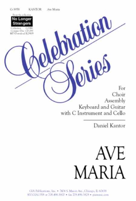 Ave Maria Sheet Music By Daniel Kantor Sheet Music Plus