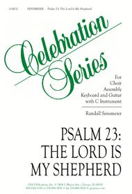 Psalm 23: The Lord Is My Shepherd