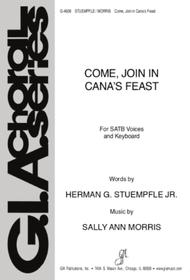 Come, Join in Cana's Feast