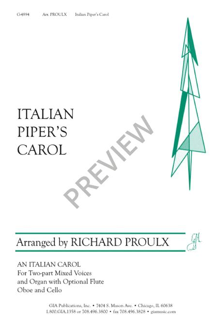 Italian Piper's Carol