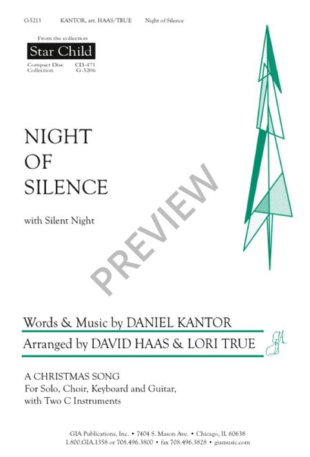 Night Of Silence Silent Night Sheet Music By Daniel Kantor Sheet