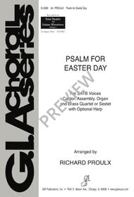 Psalm for Easter Day