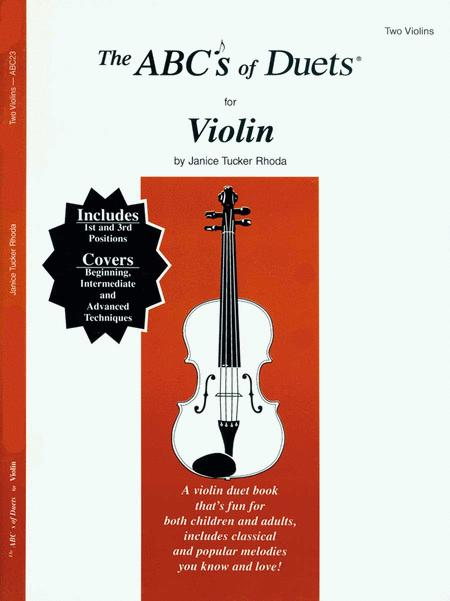 ABC's Of Duets For 2 Violins #1