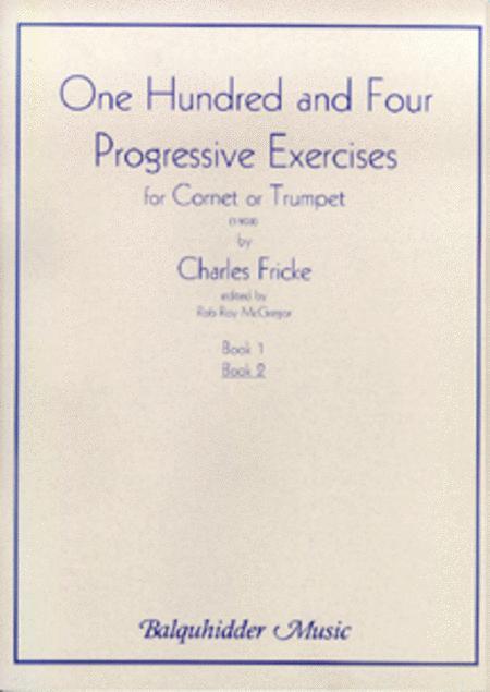 104 Progressive Exercises (1903) for Cornet or Trumpet Vol.2