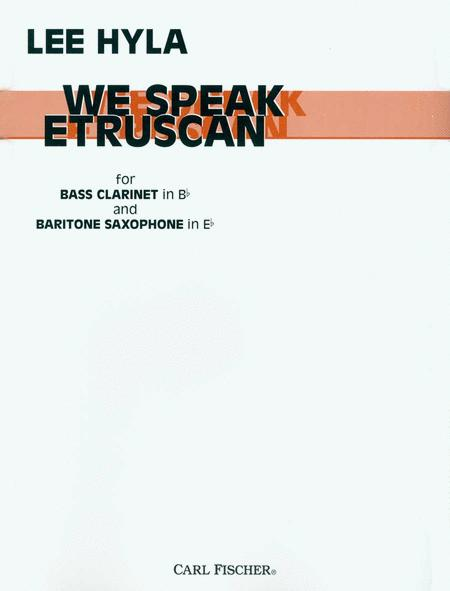 We Speak Etruscan