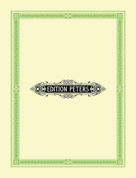 Cantique de Jean Racine, Op 11. Large score