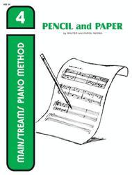 Mainstreams - Pencil and Paper 4