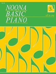 Noona Basic Piano Book 3