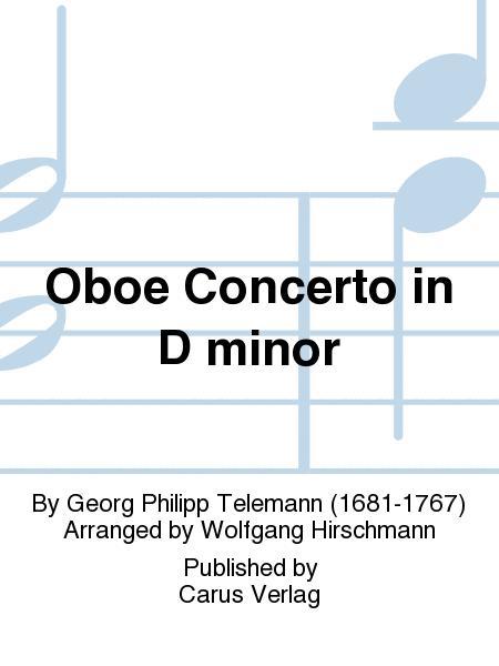 Oboe Concerto in D minor (Konzert fur Oboe in d)