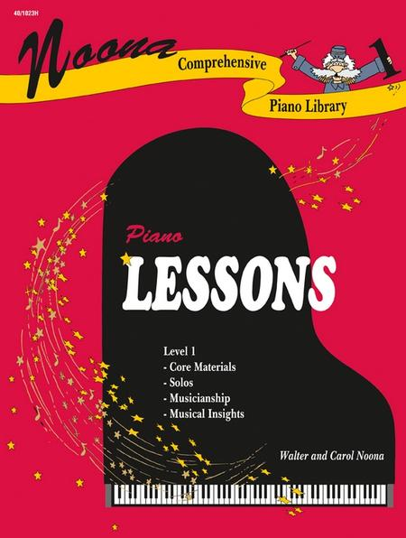 Noona Comprehensive Piano Lessons Level 1