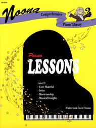 Noona Comprehensive Piano Lessons Level 3