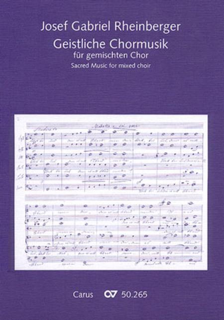 Sacred music for mixed choir