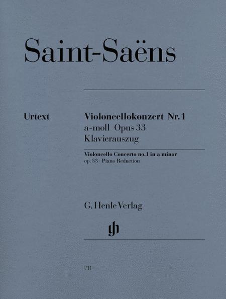 Concerto for Violoncello and Orchestra A Minor Op. 33, No. 1