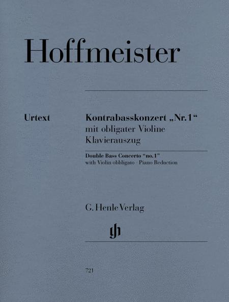 Concerto No. 1 for Double Bass and Orchestra (with Violin obbligato)