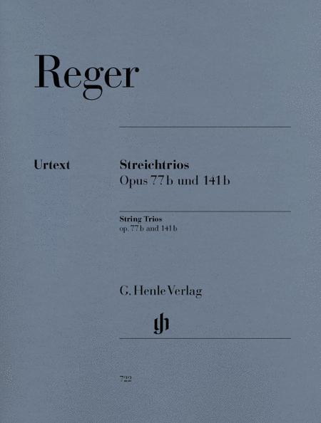 String Trios in a minor Op. 77b and d minor Op. 141b