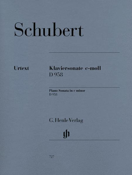 Piano Sonata c minor D 958