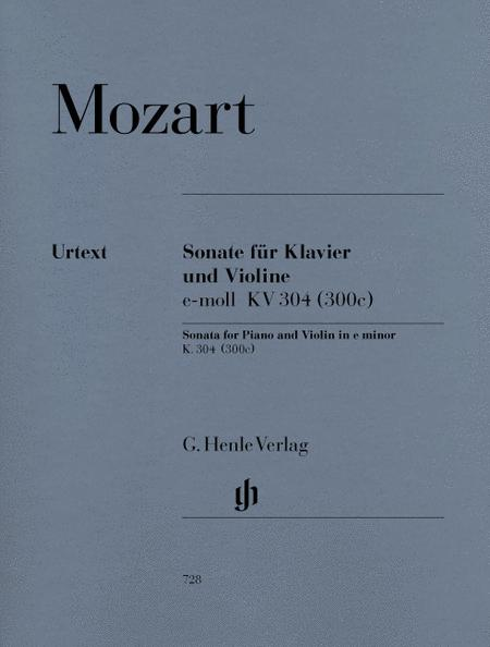 Violin Sonata in e minor K. 304 (300c)