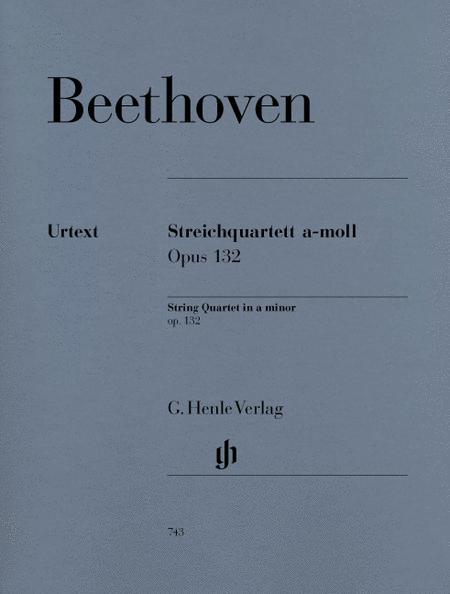 String Quartet a minor op. 132