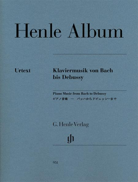 Henle Album: Piano Music from Bach to Debussy