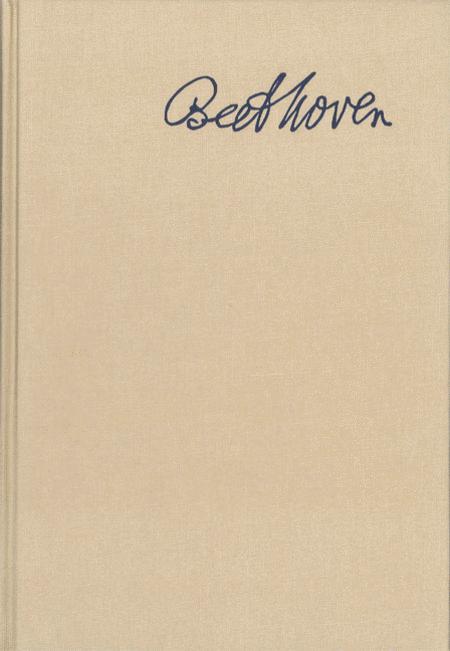 Beethoven Correspondence - Volume 7: Register