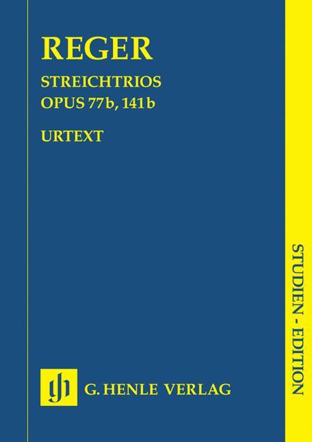 String Trios A minor Op. 77b and D minor Op. 141b