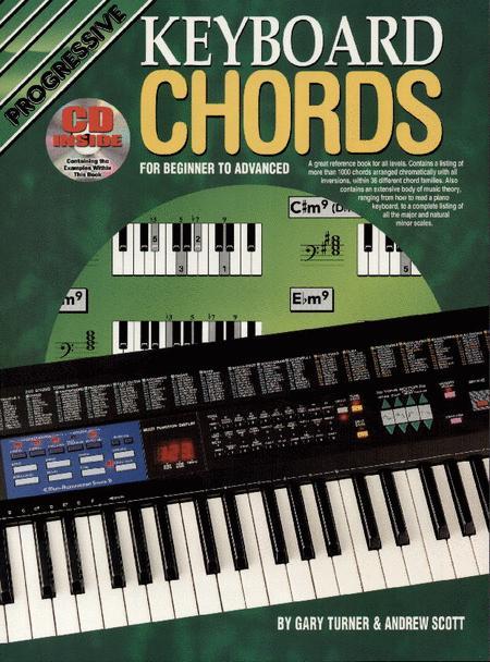 Progressive Keyboard Chords (Book/CD) Sheet Music By Gary Turner ...