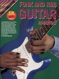 Progressive Funk & R&B Guitar Method (Book/CD)