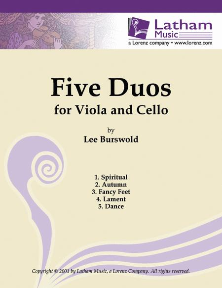 Five Duos for Viola and Cello